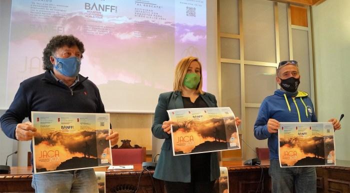 De izquierda a derecha, Aguirre, Moratinos y Rodríguez, durante la presentación del BANFF. (FOTO: Rebeca Ruiz)