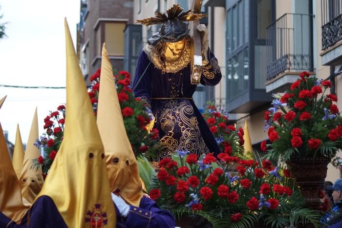 Imagen de archivo, de la Semana Santa de 2019 en Jaca. (FOTO: Rebeca Ruiz)