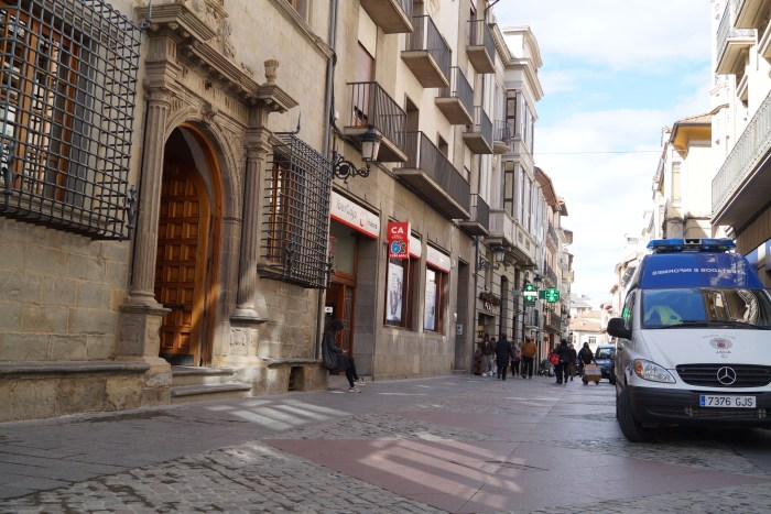 Ciudadanos Jaca plantea un plan para mejorar la comprensión de la información municipal. (FOTO: Rebeca Ruiz)