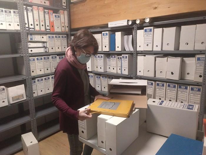 El Alto Gállego salvaguarda la historia reciente de Yésero y Caldearenas a través de sus archivos, tras la gestión de los documentos de Yebra.