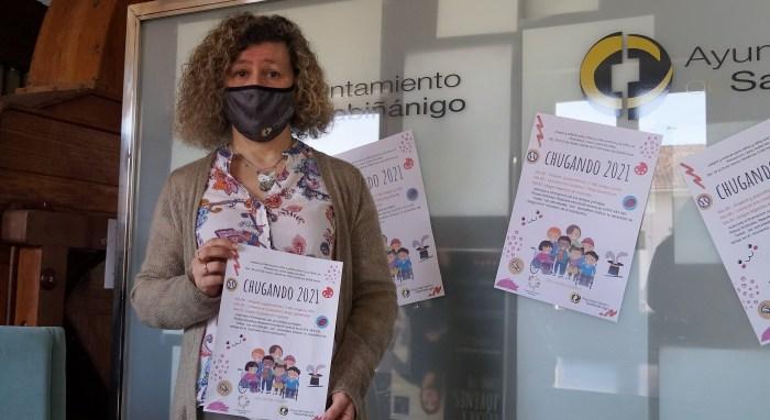 La concejala Marisa Morillo, durante la presentación de Chugando. (FOTO: Rebeca Ruiz)