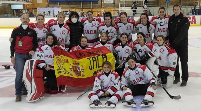 Las chicas del CHJ despiden la temporada tras llegar a las semifinales de la Copa de la Reina