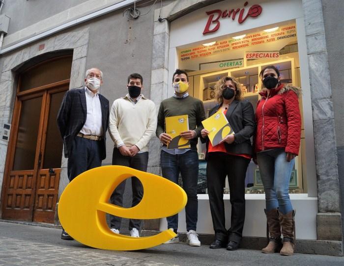 De izda. a dcha., Barrio, Carbonell, Gimeno, Bandrés y Sanagustín. (FOTO: Rebeca Ruiz)