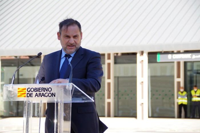 Intervención del ministro Ábalos. (FOTO: Rebeca Ruiz)