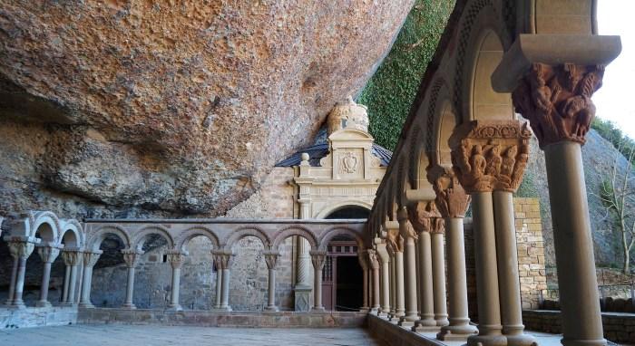 San Juan de la Peña, incluido en la ruta sobre el Santo Grial, una de las siete propuestas para conocer la historia de la Corona de Aragón. (FOTO: Rebeca Ruiz)
