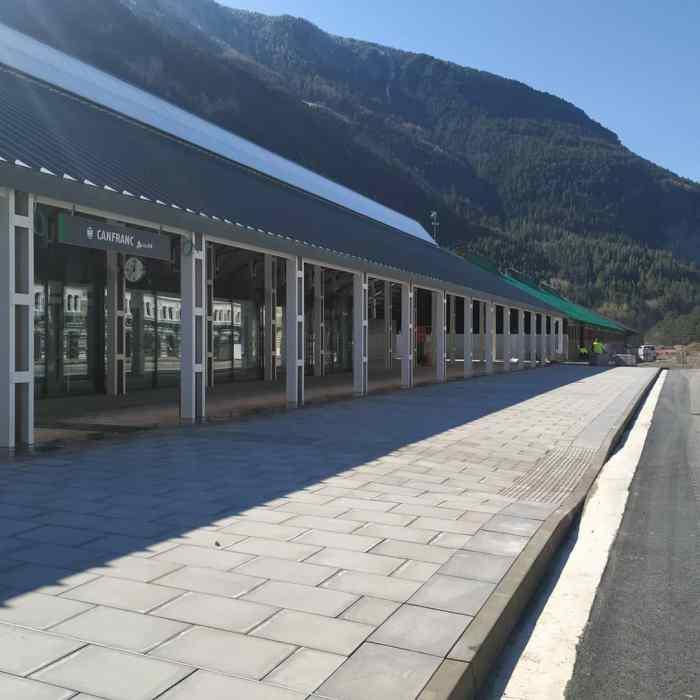 José Luis Ábalos, ministro de Transportes, inaugura mañana la nueva estación de Canfranc