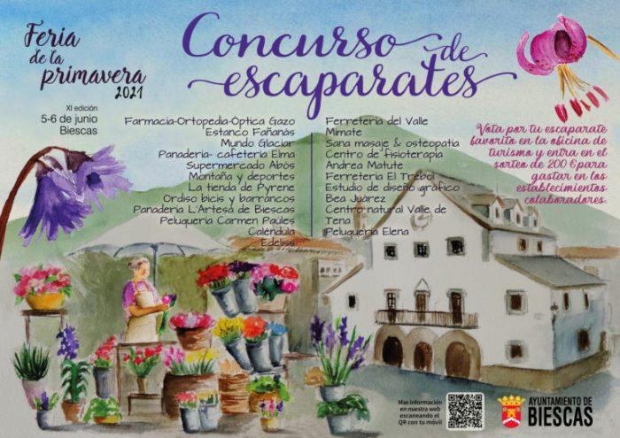 Biescas se prepara para una Feria de la Primavera que llenará las calles de colorido y sensaciones