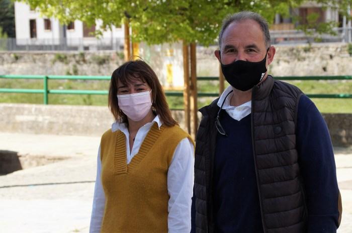 Nuria Pargada y Pepe Otal. (FOTO: Rebeca Ruiz)