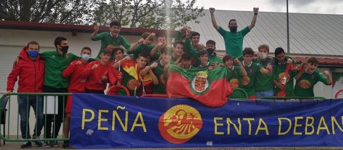 El Cadete A del CF Jacetano hace historia y logra el ascenso a División de Honor tras 20 años. (FOTO: CF Jacetano)