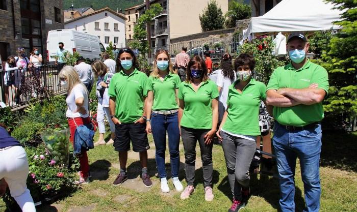 La Serrería es uno de los nuevos escenarios de la Feria de la Primavera de Biescas. (FOTO: Rebeca Ruiz)
