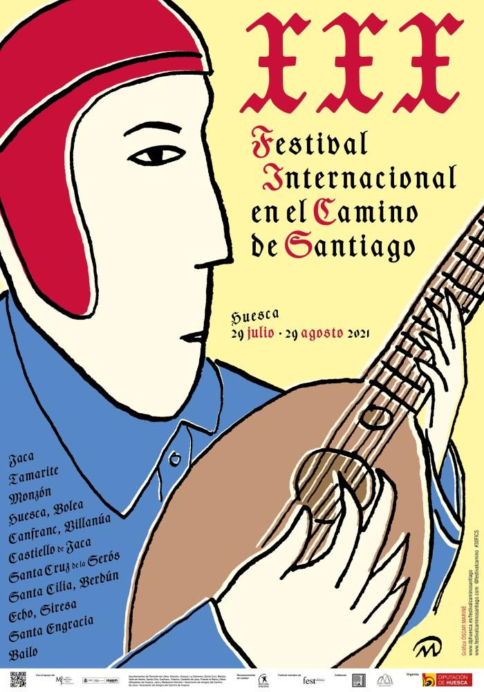 El Festival Internacional en el Camino de Santiago cumple 30 años coincidiendo con el Año Jacobeo