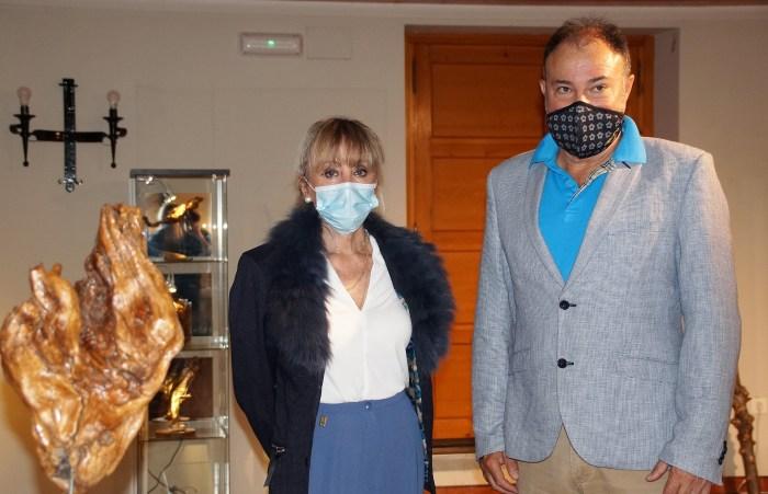 Ana Calvo y Francisco Rubio. (FOTO: Rebeca Ruiz)