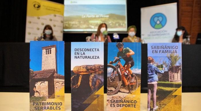 Sabiñánigo se posiciona como destino turístico con una nueva web y anuncia bonos para alojamientos. (FOTO: Rebeca Ruiz)