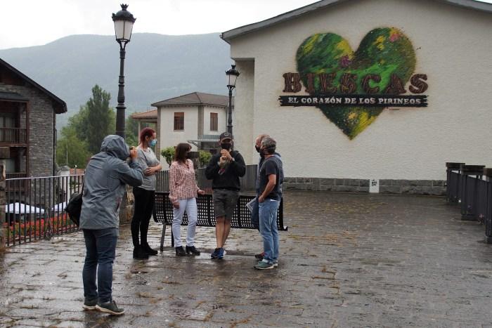 El corazón de los Pirineos, una imagen con alma para Biescas. (FOTO: Rebeca Ruiz)