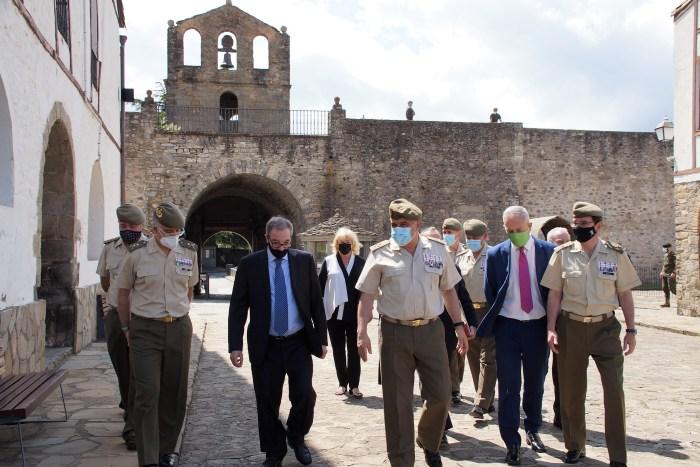 Hechos de Armas, Hechos de Arte ya se puede visitar en la Sala de Batallas de la Ciudadela de Jaca. (FOTO: Rebeca Ruiz)