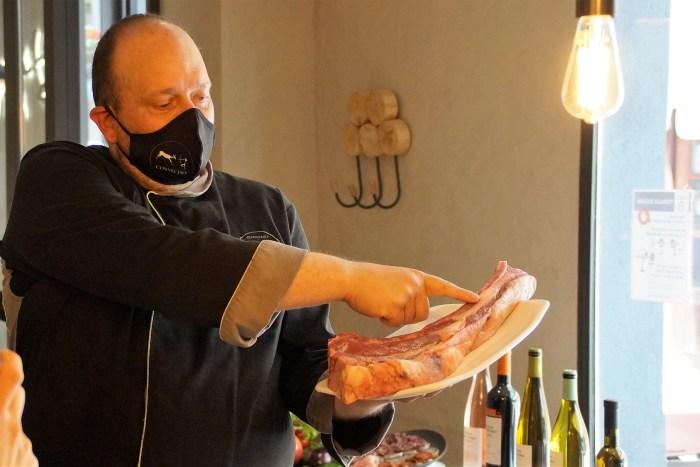 Javier Guiu, chef del Cobarcho. (FOTO: Rebeca Ruiz)