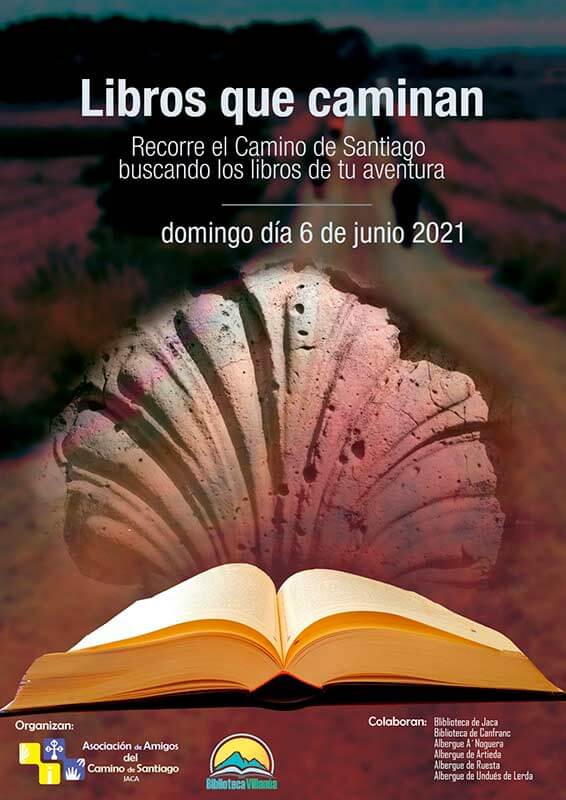 Los libros saldrán al Camino de Santiago tras el desconfinamiento de Jaca, el próximo 6 de junio