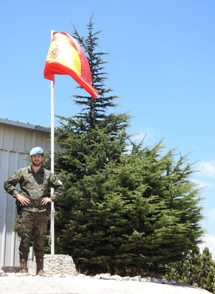 El Regimiento Galicia de Jaca en el Líbano: velando por la paz, con el corazón en España. (FOTO: Carolina Durán. Cabo S-5 Spanbatt)