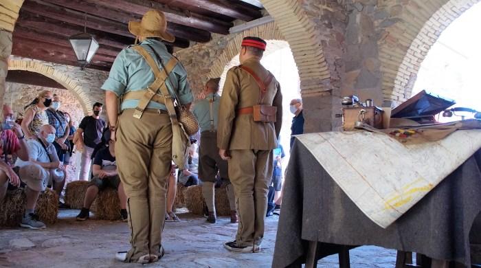La Ciudadela de Jaca abre sus puertas a la primera recreación histórica sobre la Legión Española. (FOTO: Rebeca Ruiz)