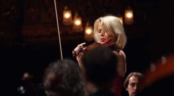 Concierto en Canfranc de la mano del IAM, de mujeres compositoras contra la violencia de género. La violinista Clara Cernat.