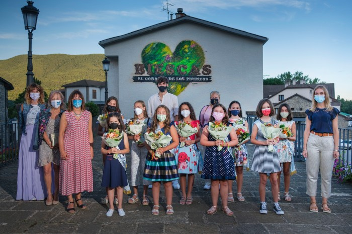 Damas infantiles de Biescas 2021.