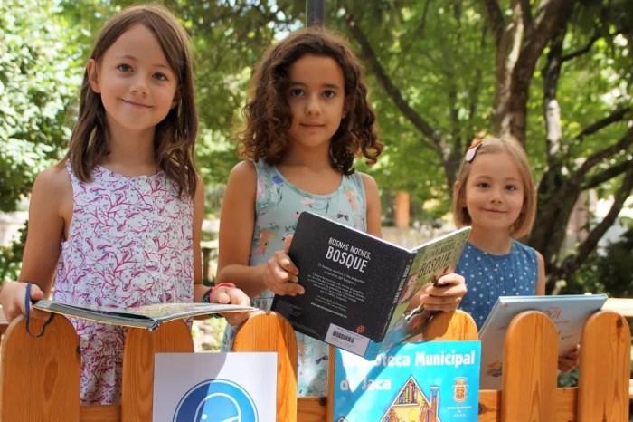 Vuelve la Feria del Libro de Jaca en 'versión original' al Paseo de la Constitución. (FOTO: Rebeca Ruiz)