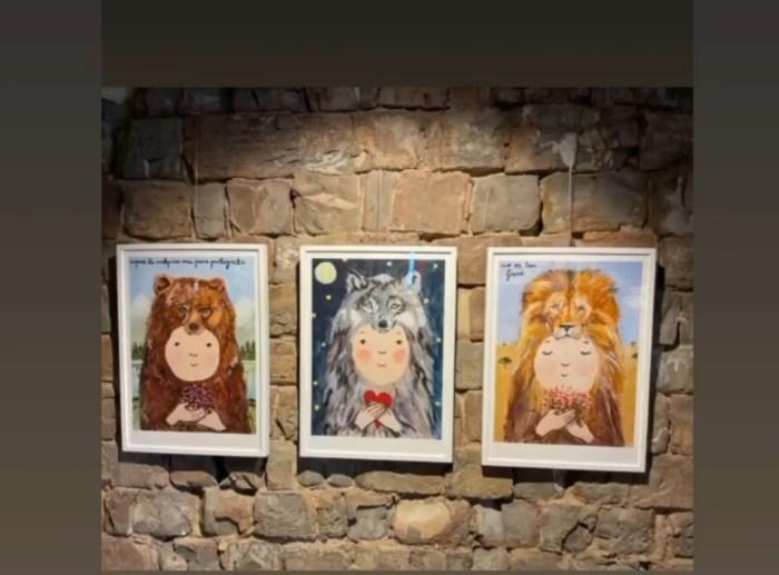300 personas han visitado ya la exposición de Eva Armisé en Sinués