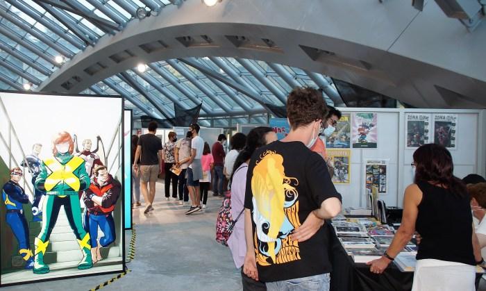 El Salón Hispano Francés de Jaca recupera la emoción del cómic ante el reto de seguir creciendo. (FOTO: Rebeca Ruiz)