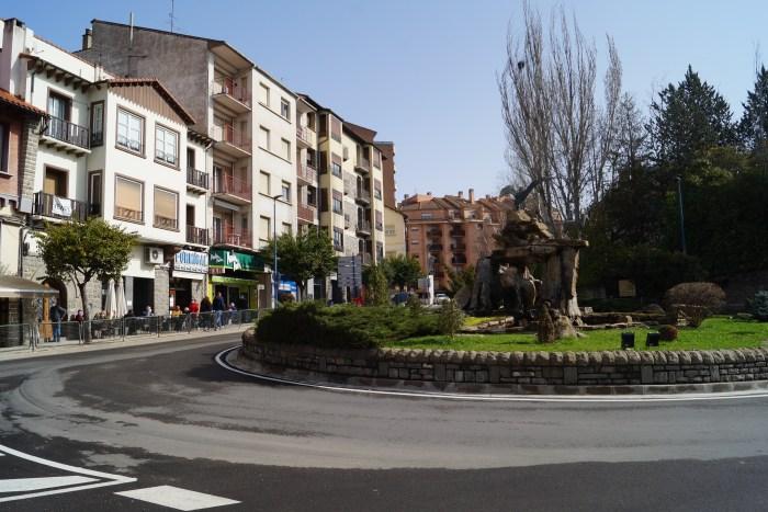 Andada y Día sin Coches, en la Semana Europea de la Movilidad de Sabiñánigo. (FOTO: Rebeca Ruiz)