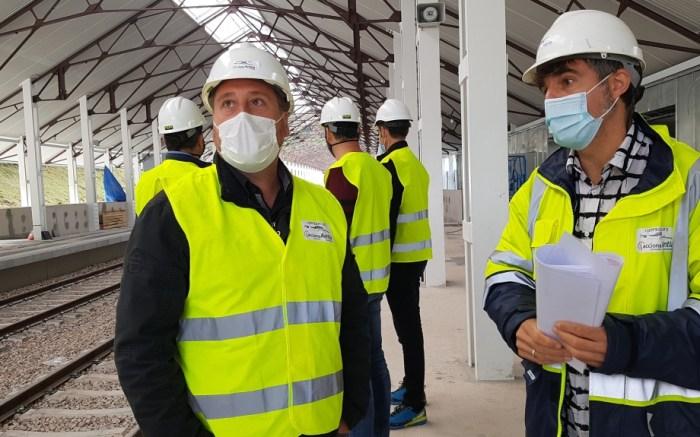 Un tour virtual para seguir los avances en las obras de la Estación de Canfranc. Soro, en Canfranc. (FOTO: Gobierno de Aragón)