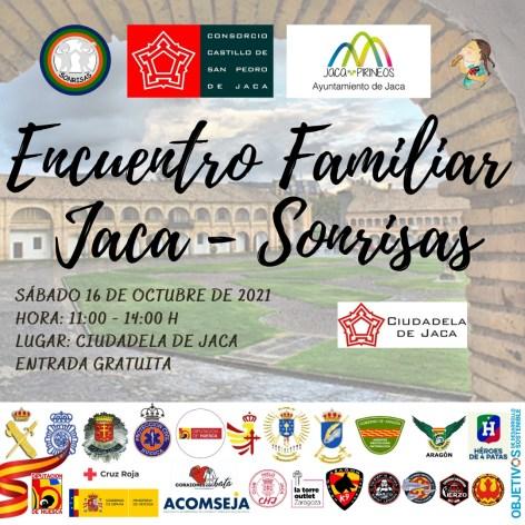 La Ciudadela de Jaca abre sus puertas al próximo evento solidario de la ONG Sonrisas