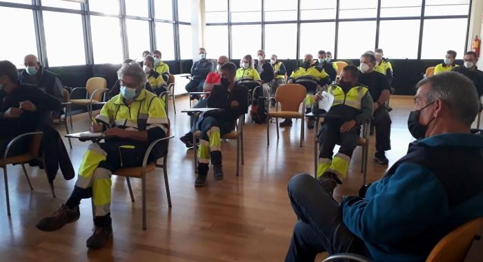 Jornada formativa sobre residuos para los trabajadores municipales del Alto Gállego