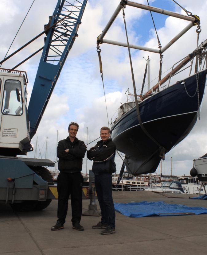 Technische dienst jachthaven Nauerna