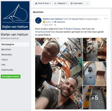 Scheepstimmerman Stefan van Hattum