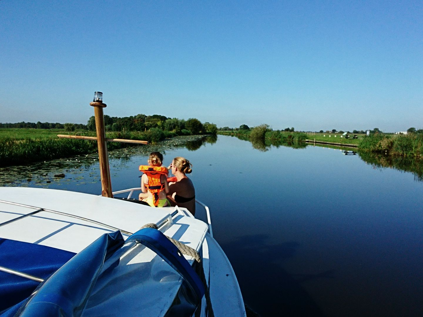 Enjoy the peace and quiet of the Dutch polder landscape