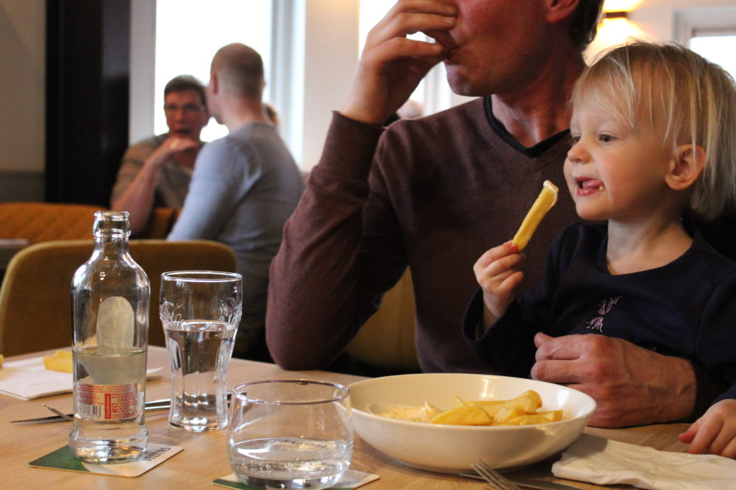 Brasserie Nauerna is a family friendly restaurant