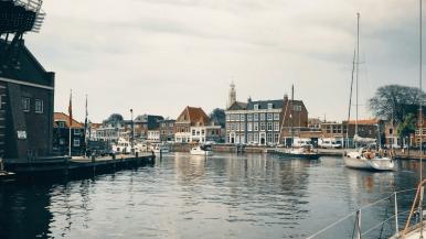 Op een uurtje varen van Haarlem