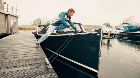 Havenmeester Pepijn Doeswijk