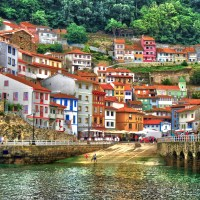 Cudillero, típica villa marinera asturiana