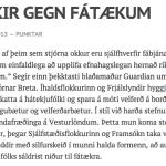 Þessi þróun hefur þegar farið í gang á íslandi og heldur bara áfram.