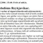 Dómur frá 2006 sem var stungið undir stól.