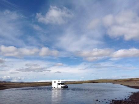 Essai sur les pistes d'Islande