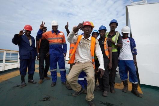 conakry-le travail est fini