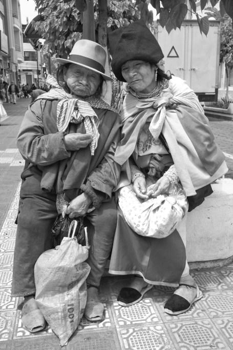 Vieux couple d'Otavalo