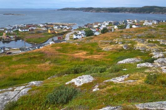 Village de pêcheur à Terre-Neuve