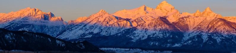 Panorama du Grand Teton