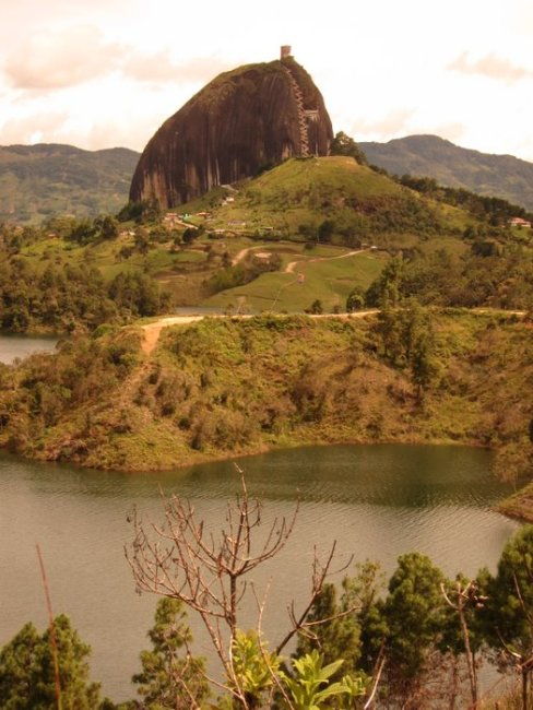 El Penon of Guatapé - or La Piedra (the rock) for short