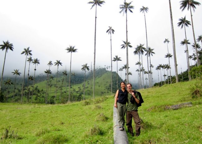 Jack and Jill at Valle de Cocora