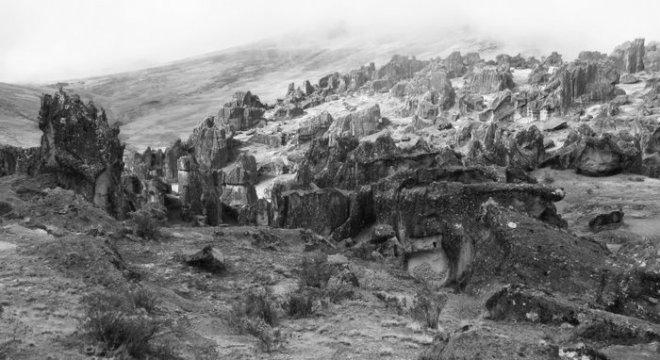 Climbing in Hatun Machay