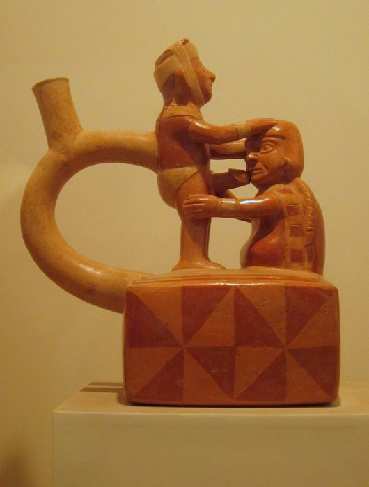 Erotic pottery in Lima